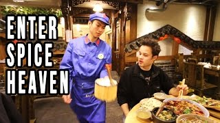 Eating At A Communist Restaurant in China | Mindblowing Chinese Food in Sichuan