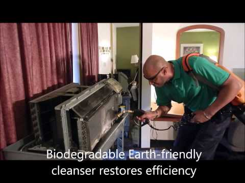 How to clean hotel ptac units, Amana ptac, GE