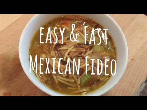 Easy & Fast Mexican Fideo | Mexican Food Hack