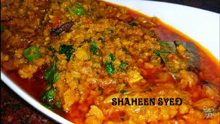 Keema Recipe | Quick And Easy Mutton Mince Recipe | Simple Mutton Keema | Qeemah