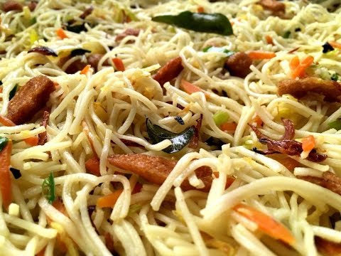 Easy Vegetable Fried Noodles Without Soy Sauce
