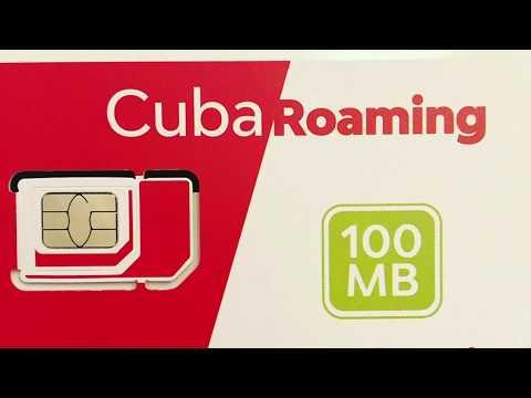 Sim Card for Cuba Travel 2017: Digicel Cuba Roaming (Part 1)