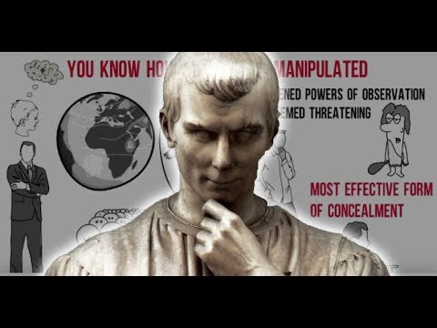 how to manipulate and read people(machiavellianism)