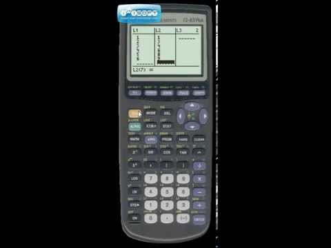 Calculus P.4 - How to plot points on ti-83 calc