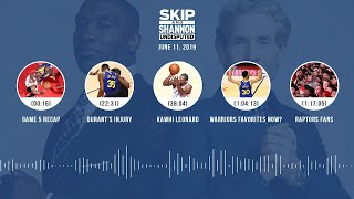 UNDISPUTED Audio Podcast (6.11.19) with Skip Bayless, Shannon Sharpe & Jenny Taft   UNDISPUTED
