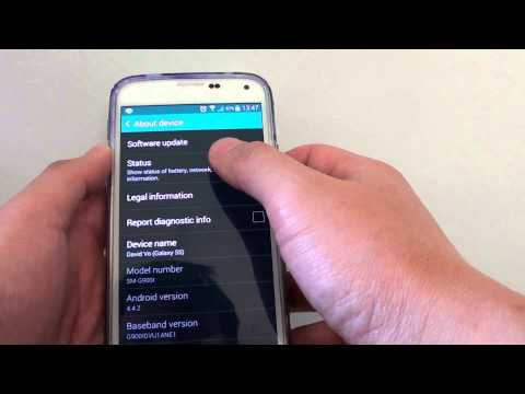 Samsung Galaxy S5: How to Check Current Mobile Network Type (LTE/GSM)