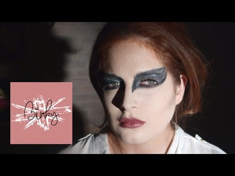 Black Swan Halloween Makeup | Binky Felstead