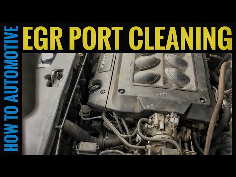 How to Clean the EGR Port on a 1998-2004 Honda Odyssey (P0401)