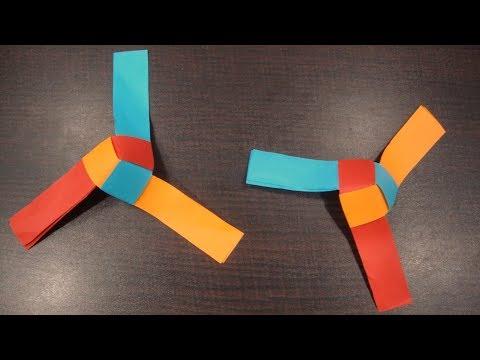 Paper fan rotating origami