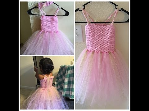 How to make a tutu dress || DIY