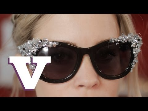 How To Make Embellished Sunglasses: Fix Up Look Sharp - S01E8/8