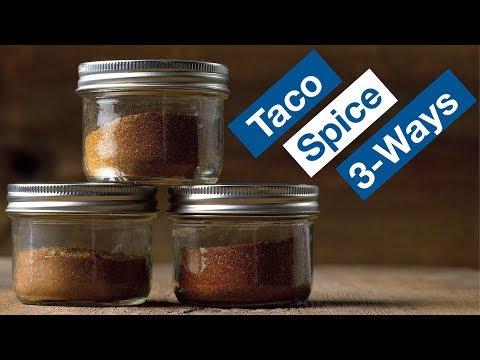 Taco Spice Seasoning Recipe 3 Ways || Le Gourmet TV Recipes