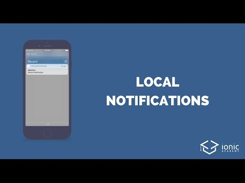 Ionic Local Notifications (Schedule, Payload and Callback)