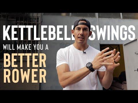 KETTLEBELL SWINGS Will Make You A Better Rower