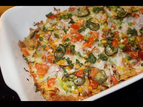 Nachos Salad / Nachos Bake - Simple and easy recipe!!!!!