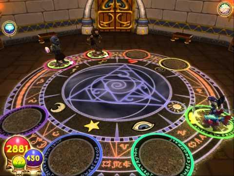 Wizard 101 Storm Minion Spell: Mokompo Storm Growler