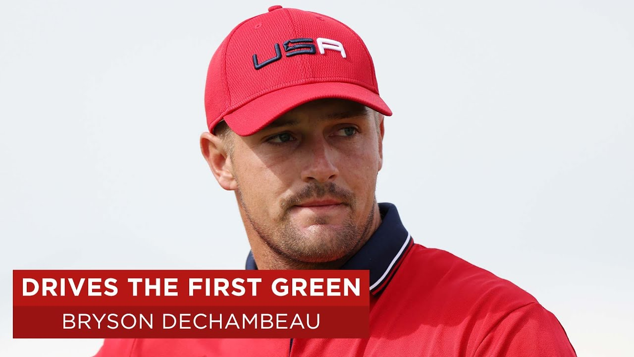 Bryson DeChambeau drives first green and makes eagle | Singles Match | 2020 Ryder Cup
