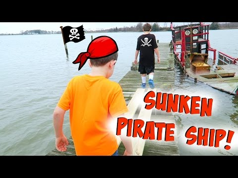 SUNKEN PIRATE SHIP! ~ VLOG