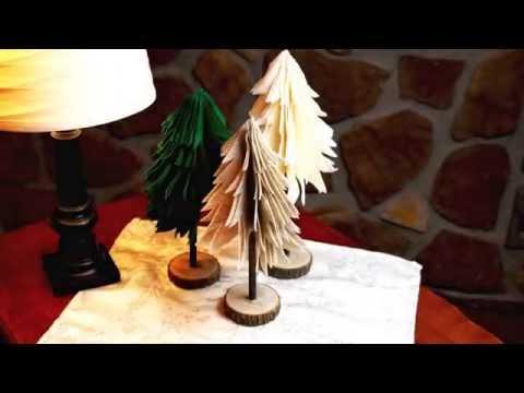 DIY Felt Christmas Tree's