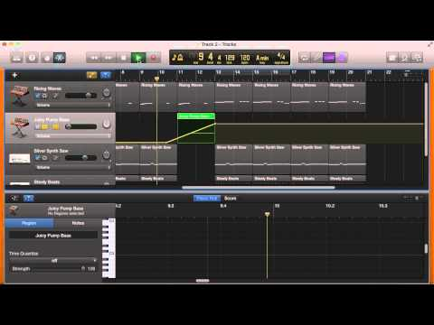 How To Use Automation In Garageband