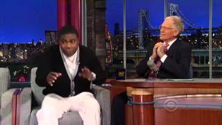 Tracy Morgan David Letterman Interview