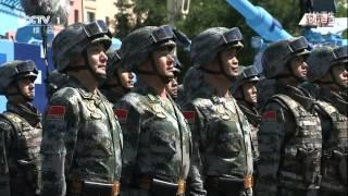 China's V-Day military parade & la chine est v - day parade militaire à Beijing 2015