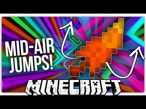 Minecraft   THE MEGA JUMP FEATHER!   Levitation Bound Custom Map
