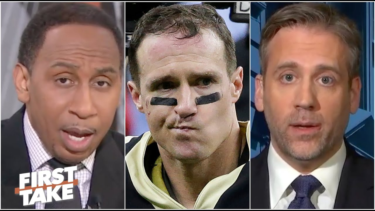Stephen A. and Max react to Drew Brees, Saints falling to Tom Brady and the Bucs   First Take
