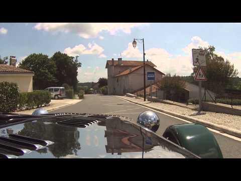 Great drive in France near charras