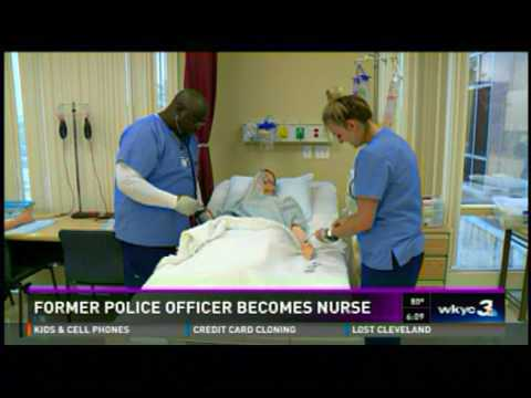 Police Officer Becomes A Nurse