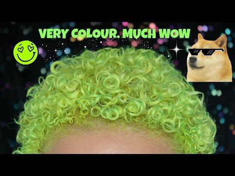 Arctic Fox Hair Color | Neon Moon on Curly Hair