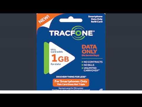 tracfone data card