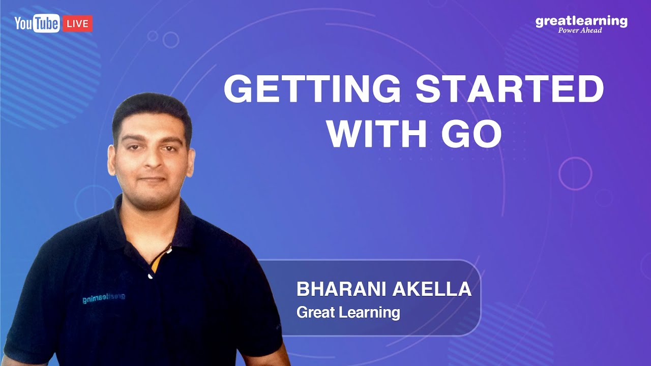 Getting started with GO | Golang Tutorial for Beginners | Great Learning
