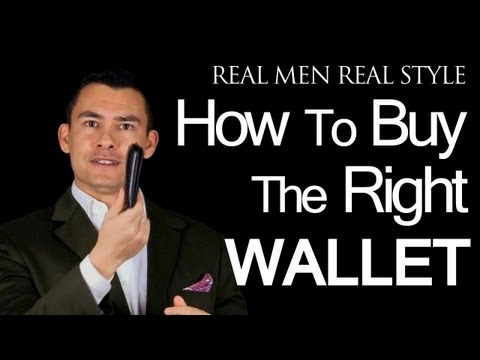 Mens Wallets - How To Buy The Right Wallet - Billfolds - Money Clips - Travel Bill Folds