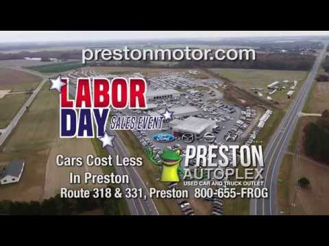 Labor Day Sales Event Continues at the Preston Autoplex with FREE Grills and Coolers