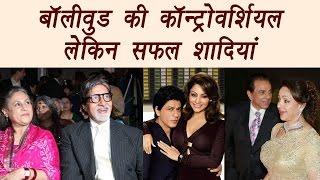 Shahrukh Khan- Gauri, Amitabh -Jaya, controversial but strong couples | Filmibeat