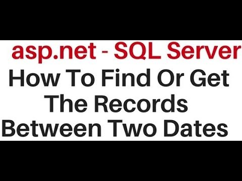 asp.net c# bind records in gridview between two dates sql server