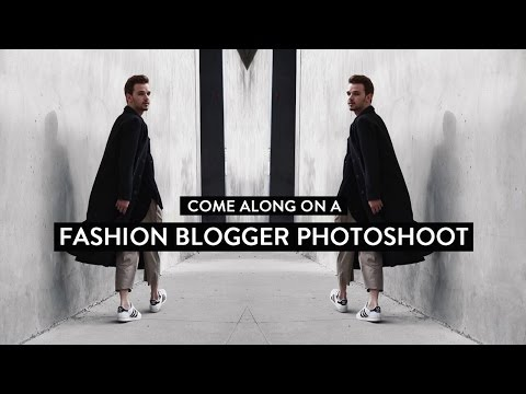 Come Along on a Fashion Blogger Photoshoot!