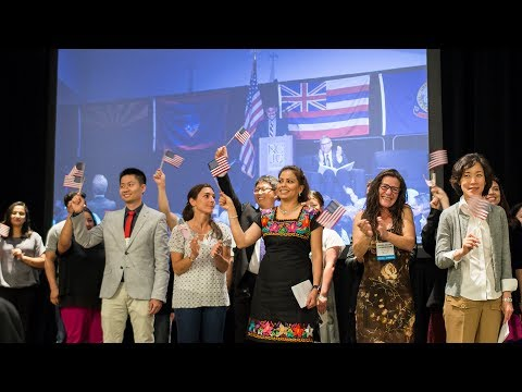 Opening Ceremony and Naturalization Ceremony