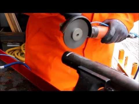 A 0502 pipe cutting