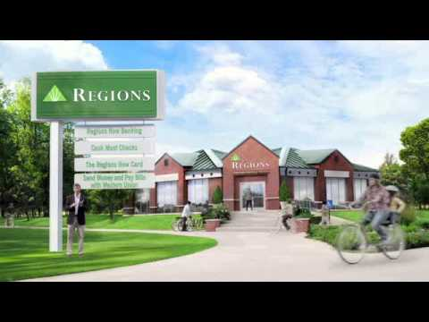 Regions Bank Checking & Banking Services