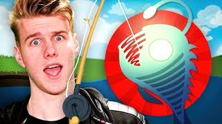 DEEP SEA ANGLER FISHING! (Cat Goes Fishing)