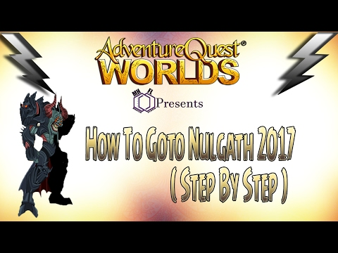 =AQW= How to goto Nulgath 2017 ( Step by Step )