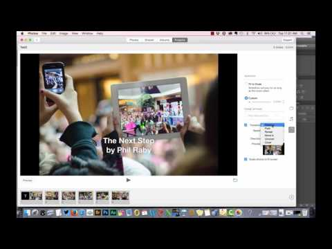 Create a Slideshow with Photos app in Mac