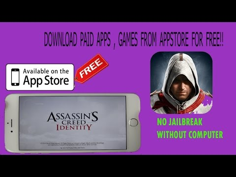 Download Assassin's Creed identity FREE + Paid Games FREE from App Store No Jailbreak iPhone , iPad