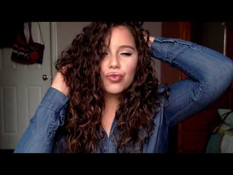 How to diffuse hair without frizz | Wavy & Curly
