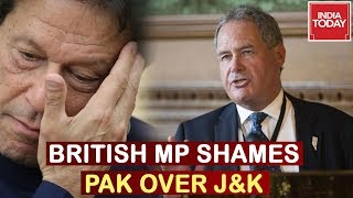British MP Bob Blackman Shames Pakistan, Calls Entire J&K Sovereign Part Of India