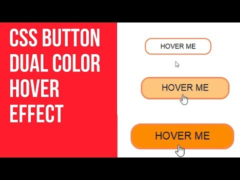 CSS BUTTON HOVER EFFECTS | CSS BUTTON DUAL COLOR HOVER EFFECT #4