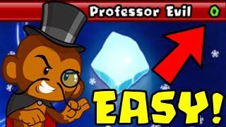How to Beat The NEW Professor Evil Challenge in BTD Battles | Week 51