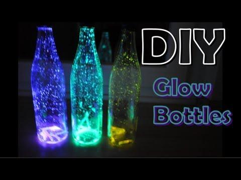 DIY - Glow Bottles